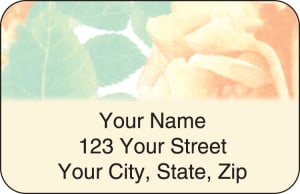 Majestic Rose Address Labels – click to view product detail page