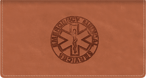 Paramedic Leather Checkbook Cover – click to view product detail page