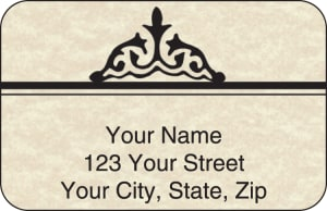 Parchment Address Labels – click to view product detail page