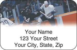 Pro Hockey Address Labels – click to view product detail page