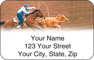 Pro Rodeo Address Labels – click to view product detail page