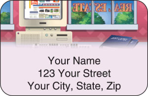 Real Estate Address Labels – click to view product detail page