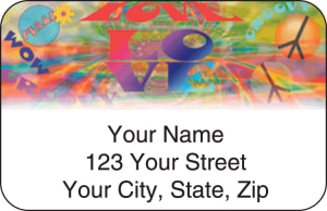 Retro Address Labels – click to view product detail page
