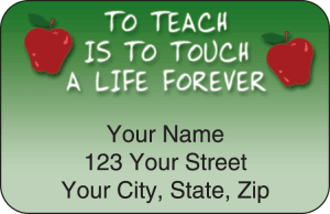Teachers Address Labels – click to view product detail page