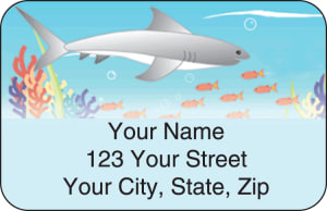 Tropical Fish Address Labels – click to view product detail page