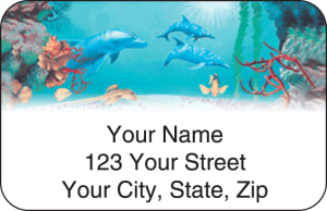 Undersea Fantasy Address Labels – click to view product detail page