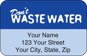 Water Wise Address Labels – click to view product detail page