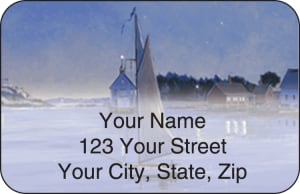 Water's Edge Address Labels – click to view product detail page
