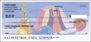Enlarged view of bowling checks