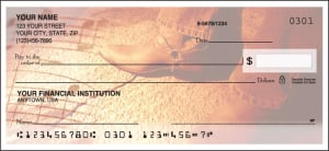 Enlarged view of country music checks