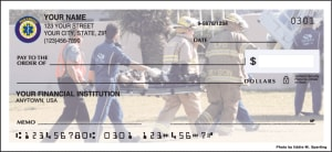Enlarged view of paramedic checks