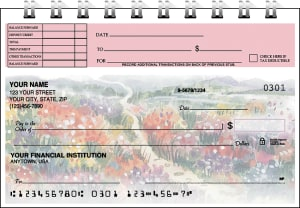 Pastel Gardens Top Stub Checks – click to view product detail page