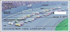 Enlarged view of racing checks