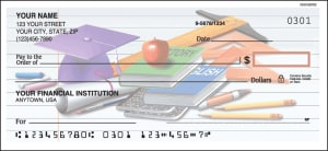 Enlarged view of teachers checks
