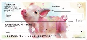 Watercolor Farm Checks – click to view product detail page