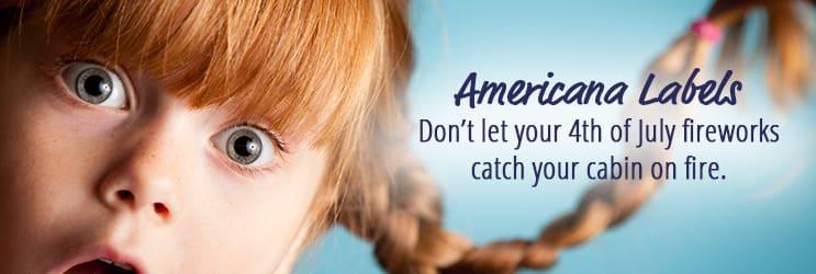 Americana Address Labels