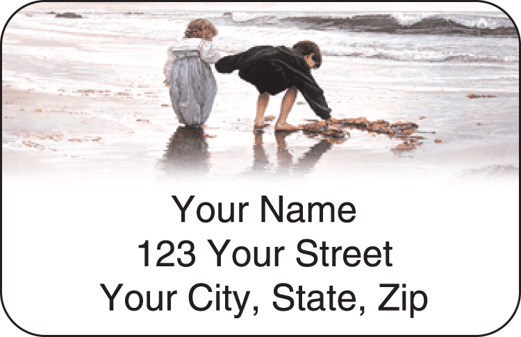 Age of Innocence Address Labels - click to view larger image