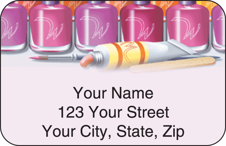 All Polished Address Labels