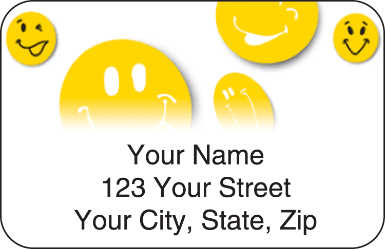 All Smiles Address Labels - click to preview
