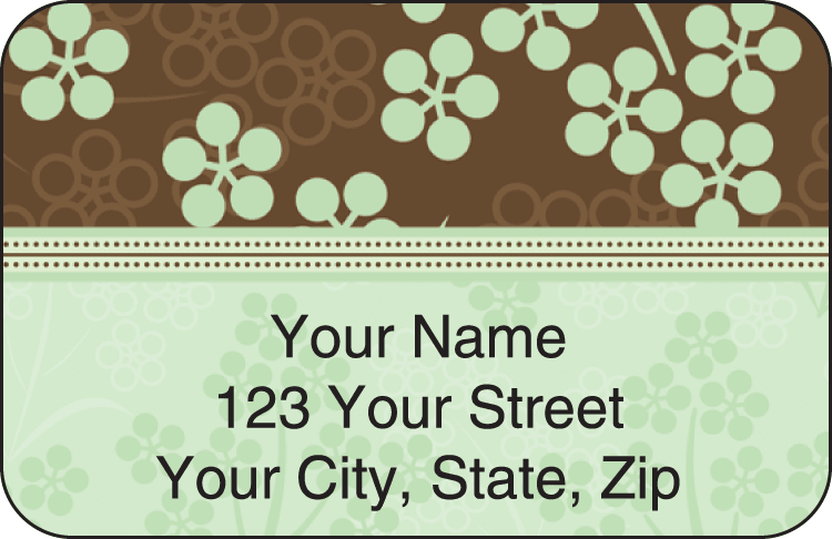 Bittersweet Address Labels - click to view larger image