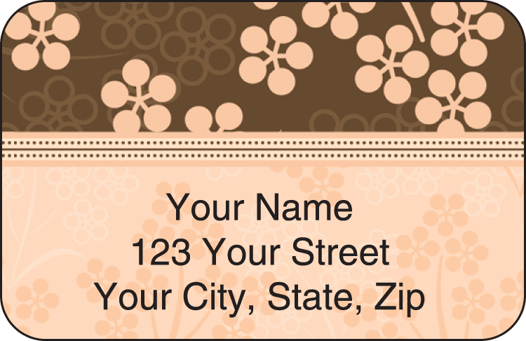 Bittersweet Address Labels - click to preview