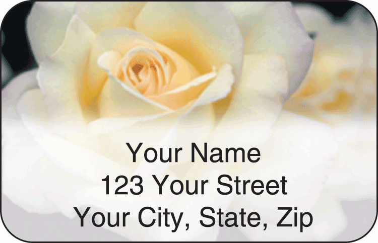 Blooms Address Labels - click to preview