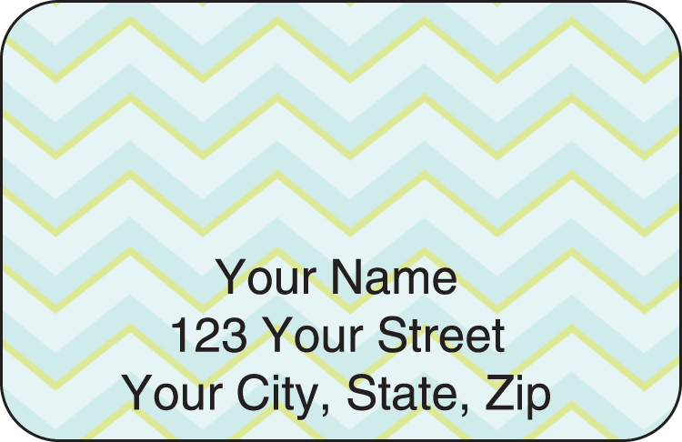 chevron address labels - click to preview