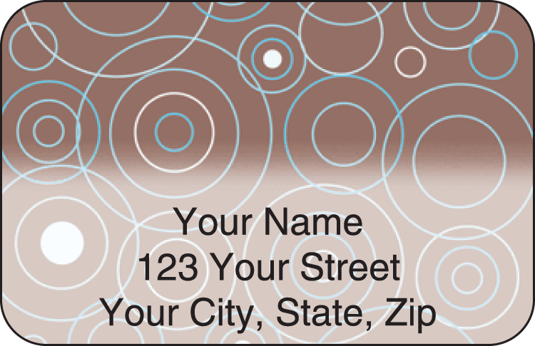 circles address labels - click to preview