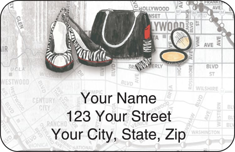 Concrete Jungle Address Labels