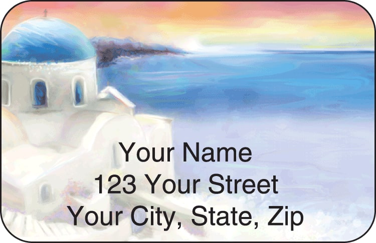 destinations address labels - click to preview