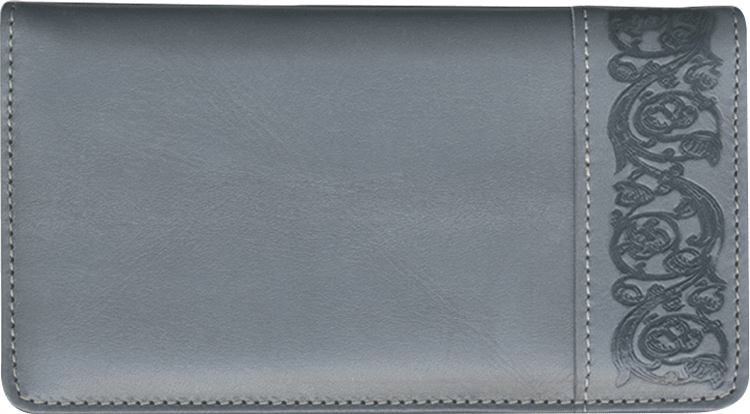 Elegance Leather Checkbook Cover - click to view larger image