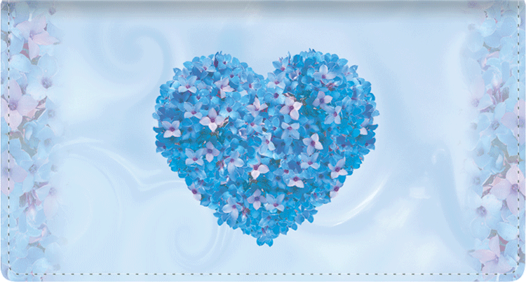 Expressions of Love Leather Checkbook Cover - click to view larger image