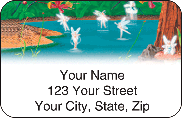 Fantasyland Address Labels