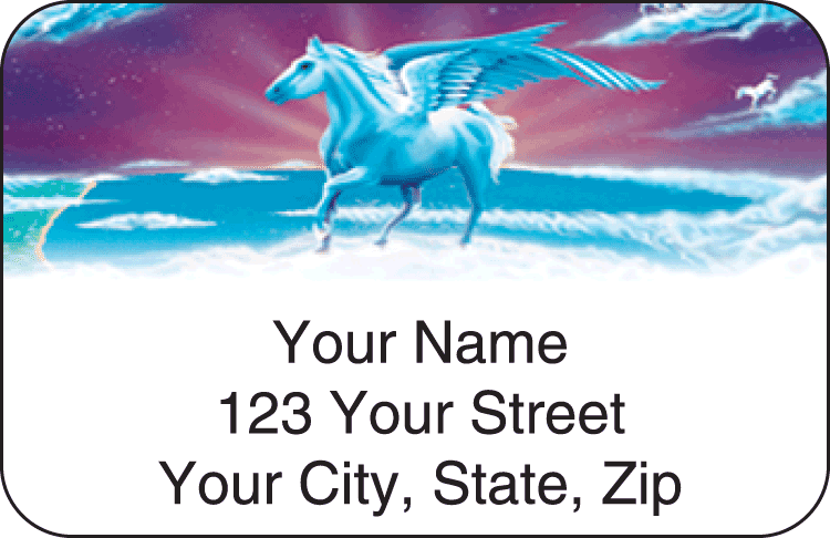 fantasyland address labels - click to preview
