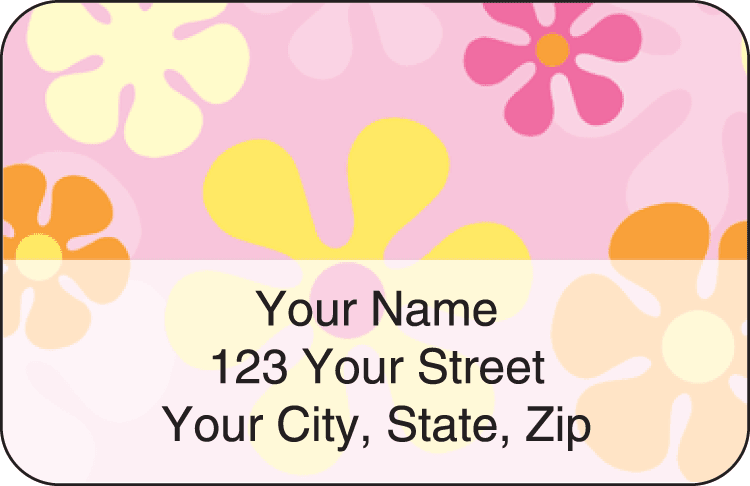 Flair Address Labels - click to view larger image