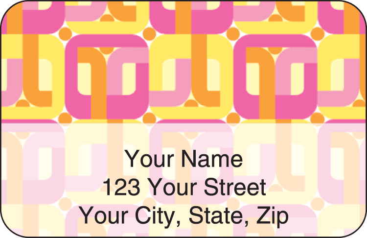 Flair Address Labels - click to preview