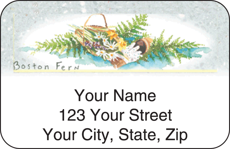 Garden Shed Address Labels