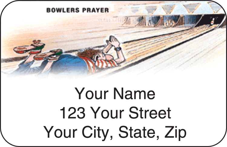 gary patterson bowling address labels - click to preview
