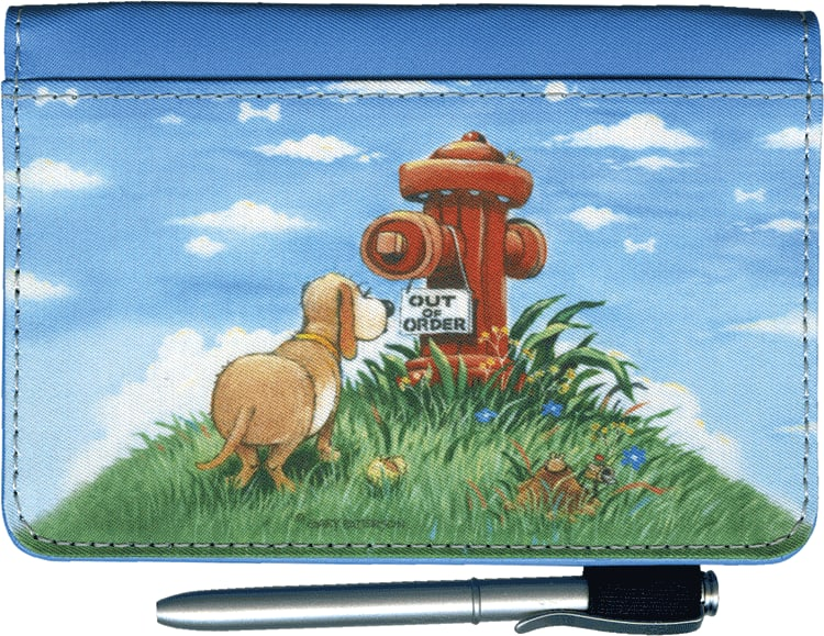 Gary Patterson Dogs Debit Wallet - click to view larger image