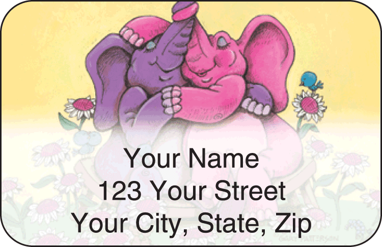 Gary Patterson Lovables Address Labels - click to preview
