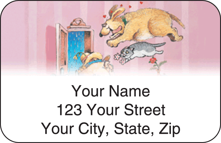 Gary Patterson Pets Address Labels - click to preview