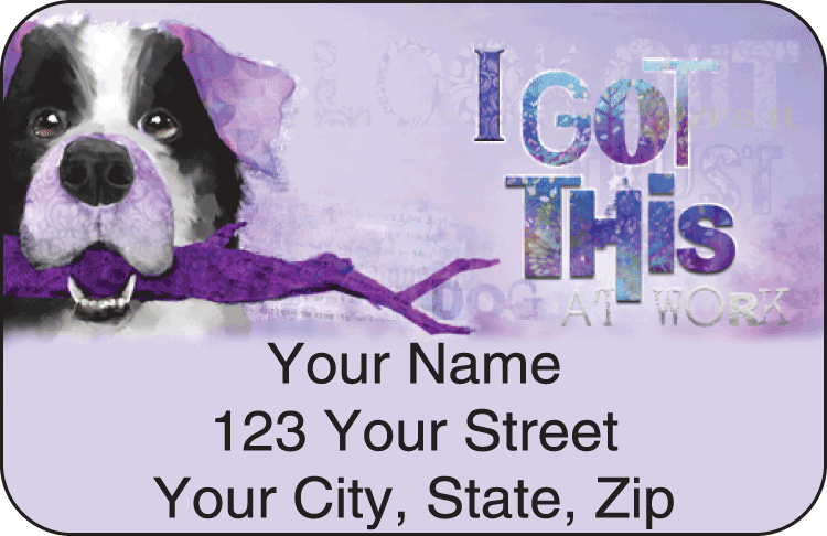 Good Dog Address Labels - click to view larger image