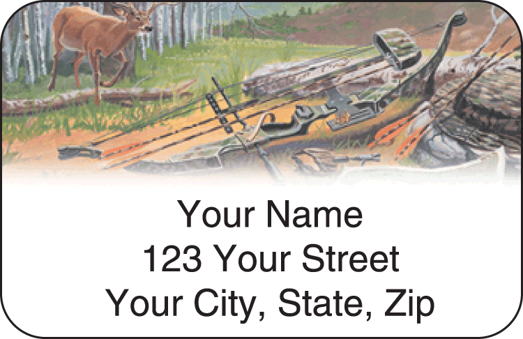 Hunting Address Labels
