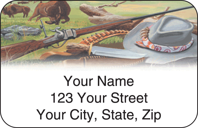 Hunting Address Labels - click to preview