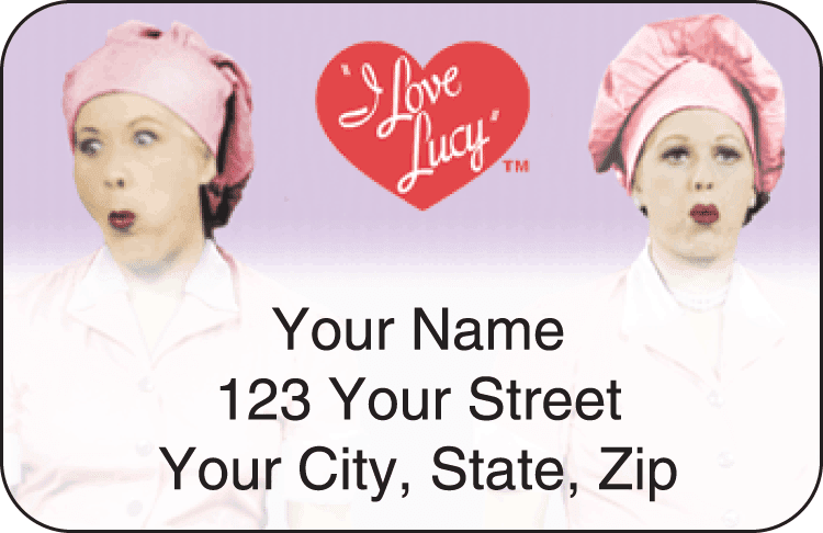 I Love Lucy&#8482 Address Labels