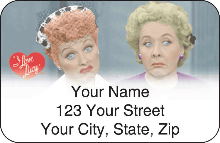 I Love Lucy&#8482 Address Labels - click to preview