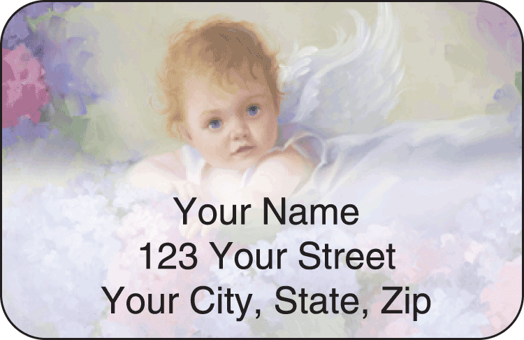 Li'l Angels Address Labels - click to view larger image