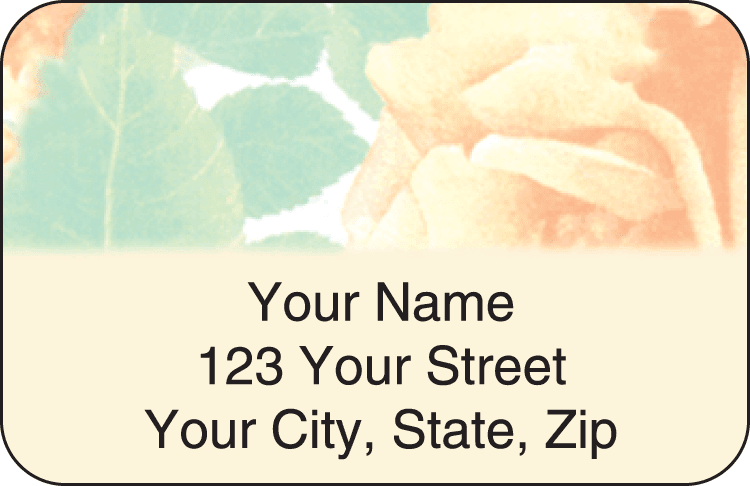 Majestic Rose Address Labels