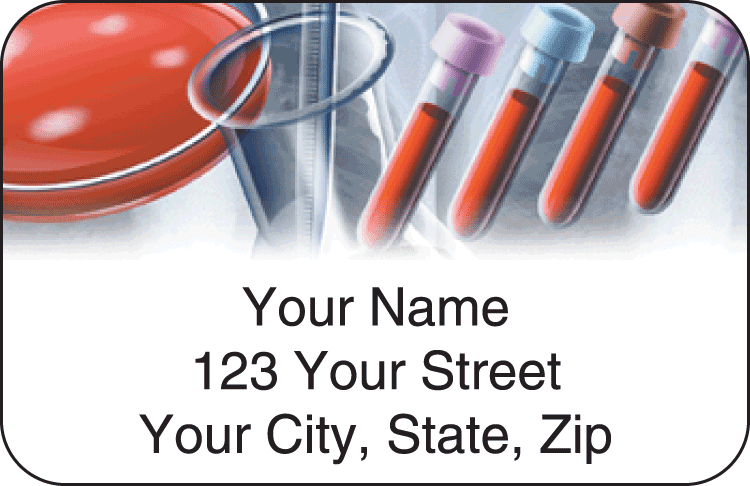 Medical Address Labels - click to view larger image