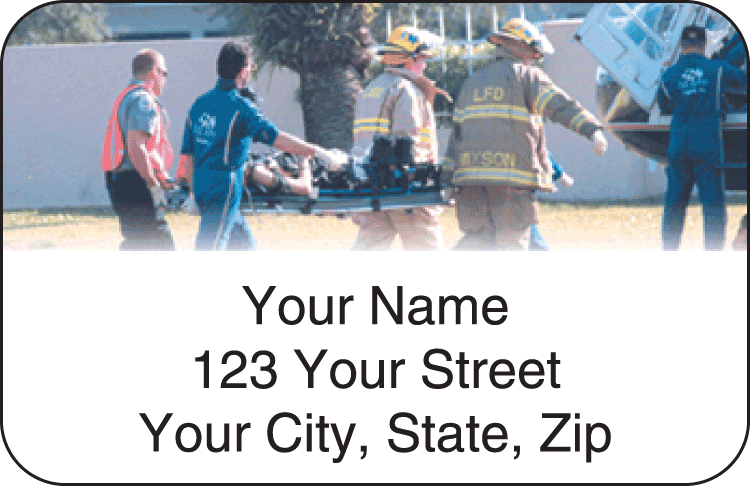 Paramedic Address Labels - click to view larger image